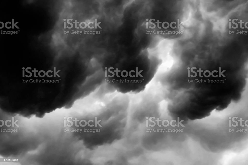 Storm Cloud Series #3 of 6 stock photo