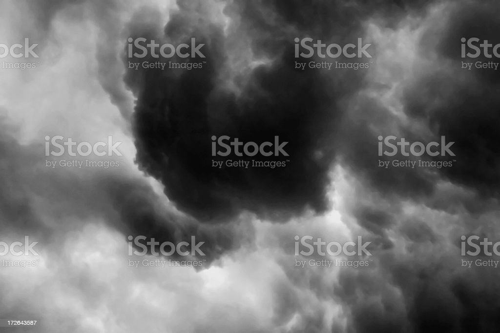 Storm Cloud Series #5 of 6 stock photo