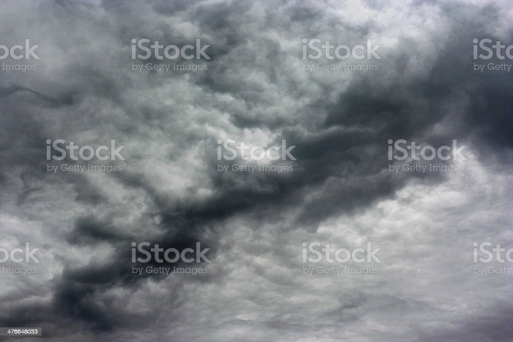 Storm clouds as if armageddon. royalty-free stock photo
