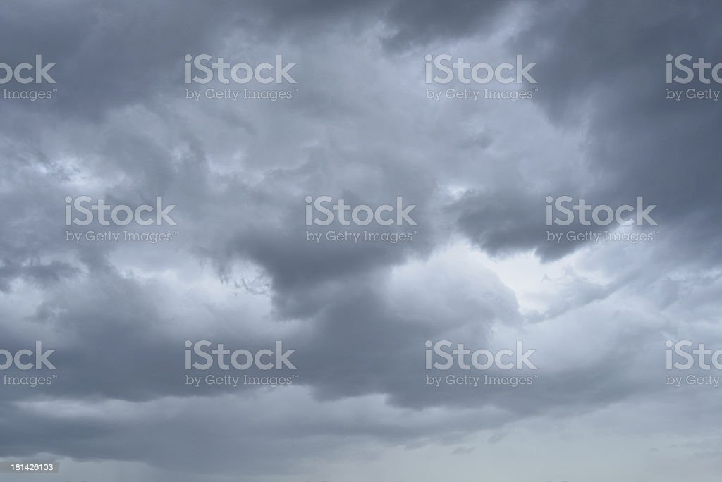 Storm clouds background royalty-free stock photo