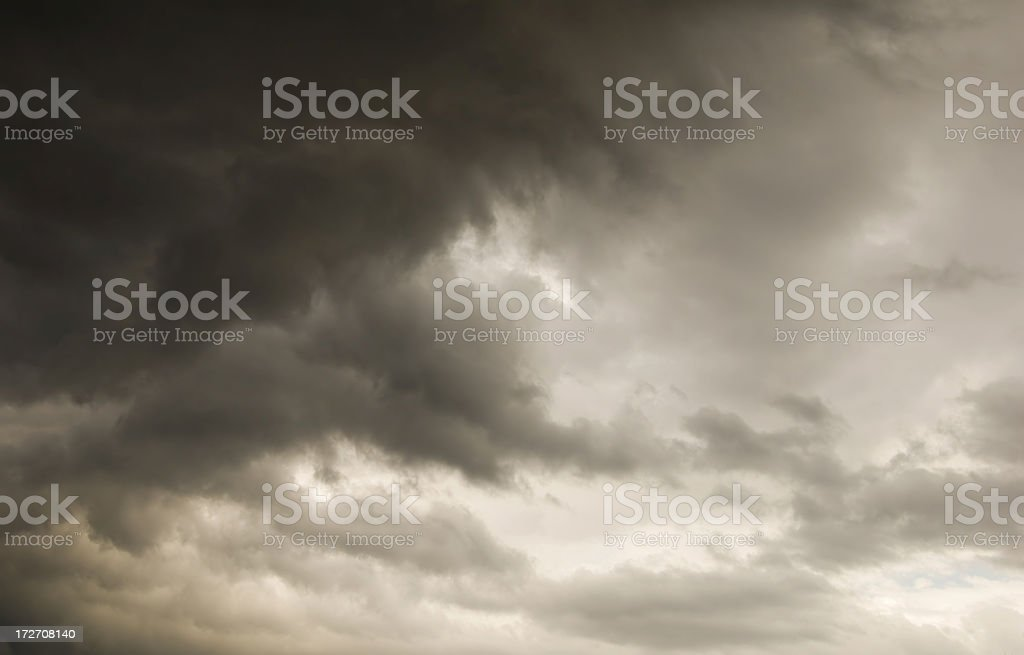 Storm Clouds Moving In royalty-free stock photo