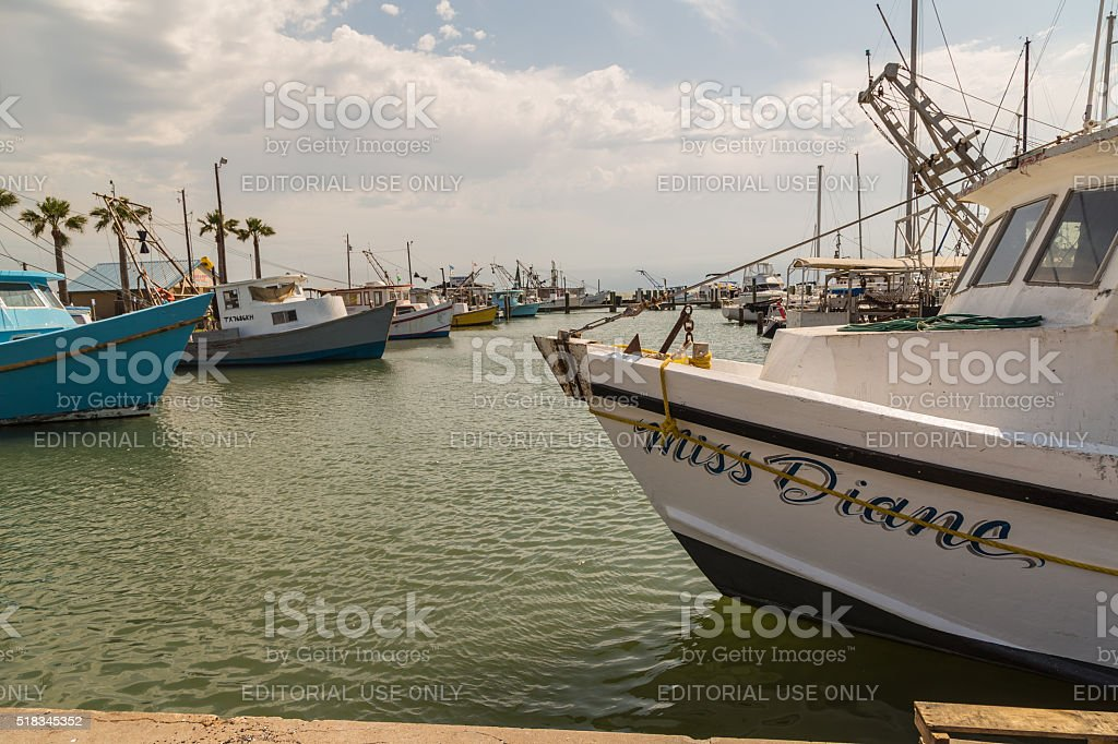 Storm Clouds on Gulf Coast stock photo