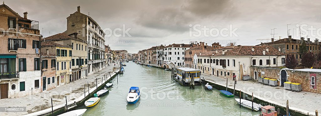 Storm clouds over Venice royalty-free stock photo