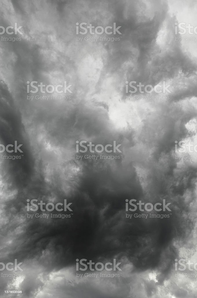 Storm Clouds Vertical royalty-free stock photo