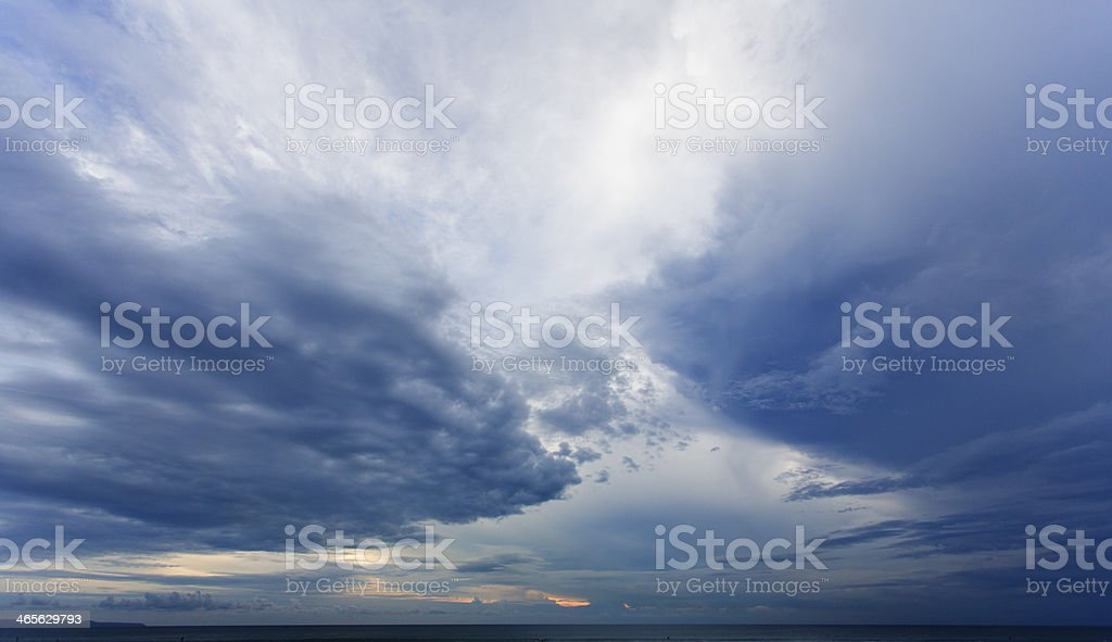 Storm Cloudscape royalty-free stock photo