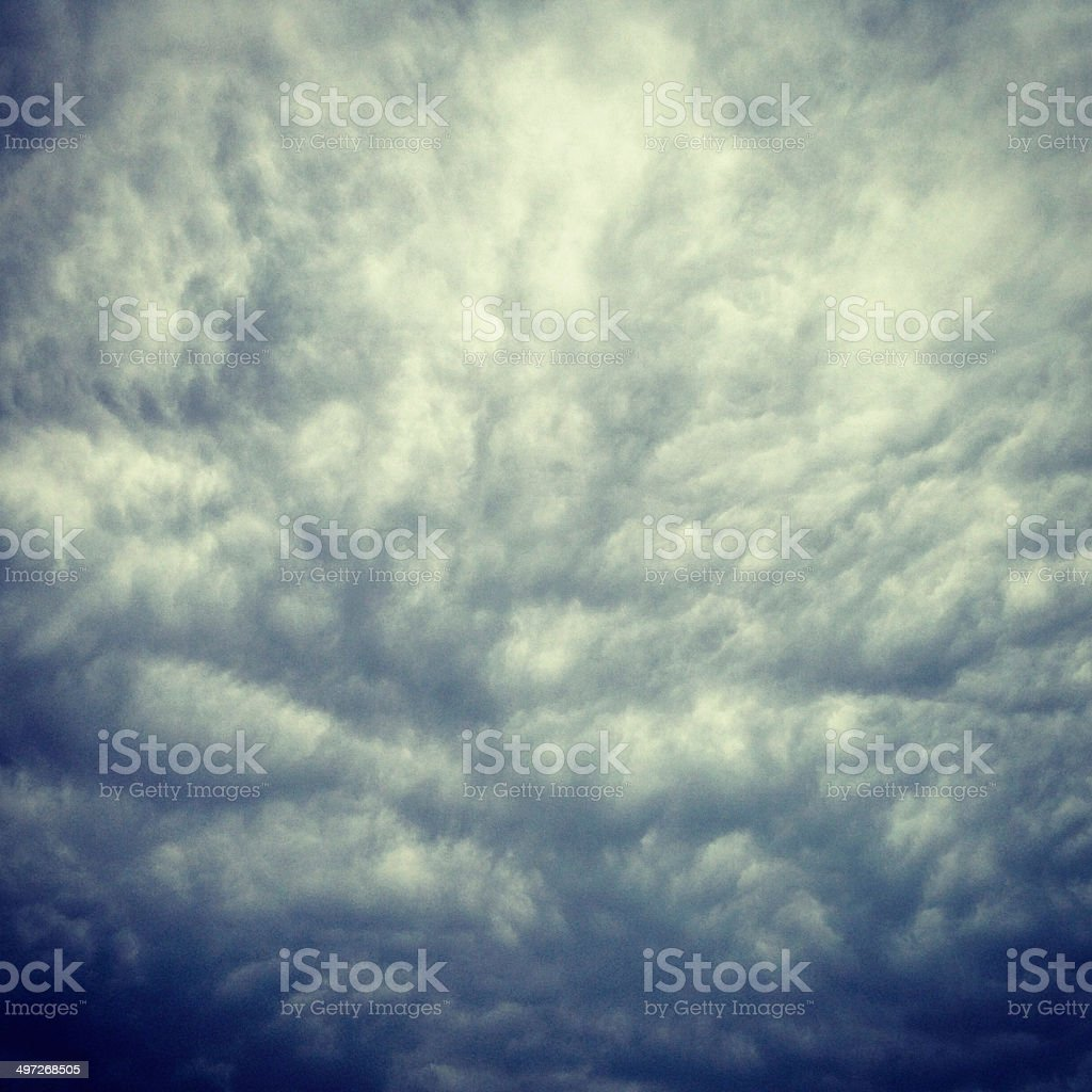 Storm Coming stock photo