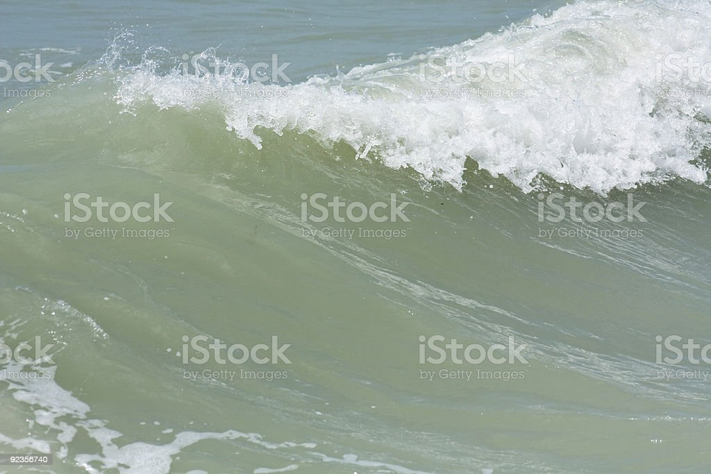 Storm Driven Wave stock photo