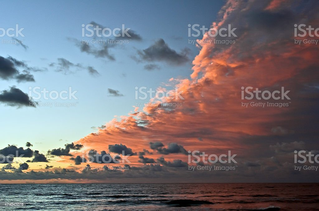 Storm Front stock photo