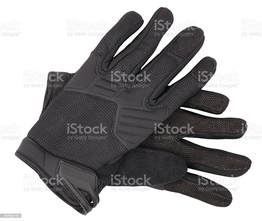 storm gloves stock photo
