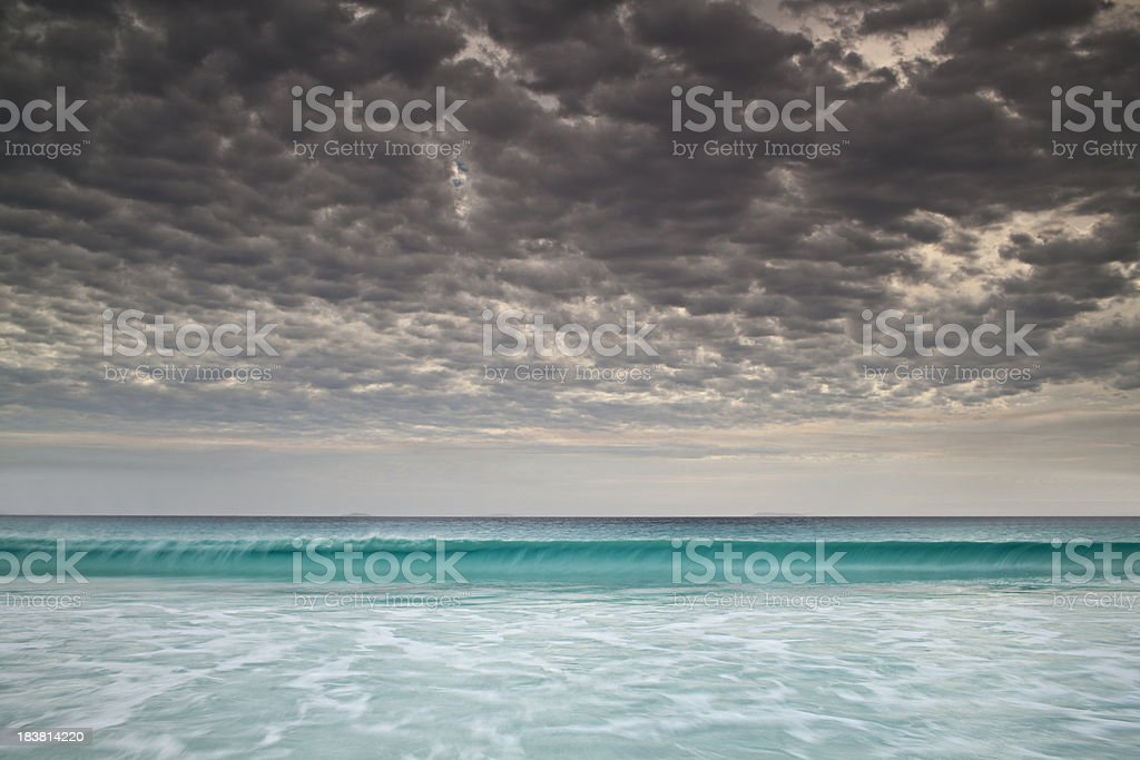 Storm in paradise... royalty-free stock photo