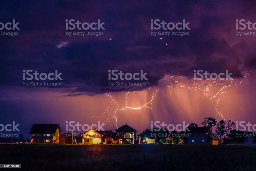 Storm is Coming stock photo