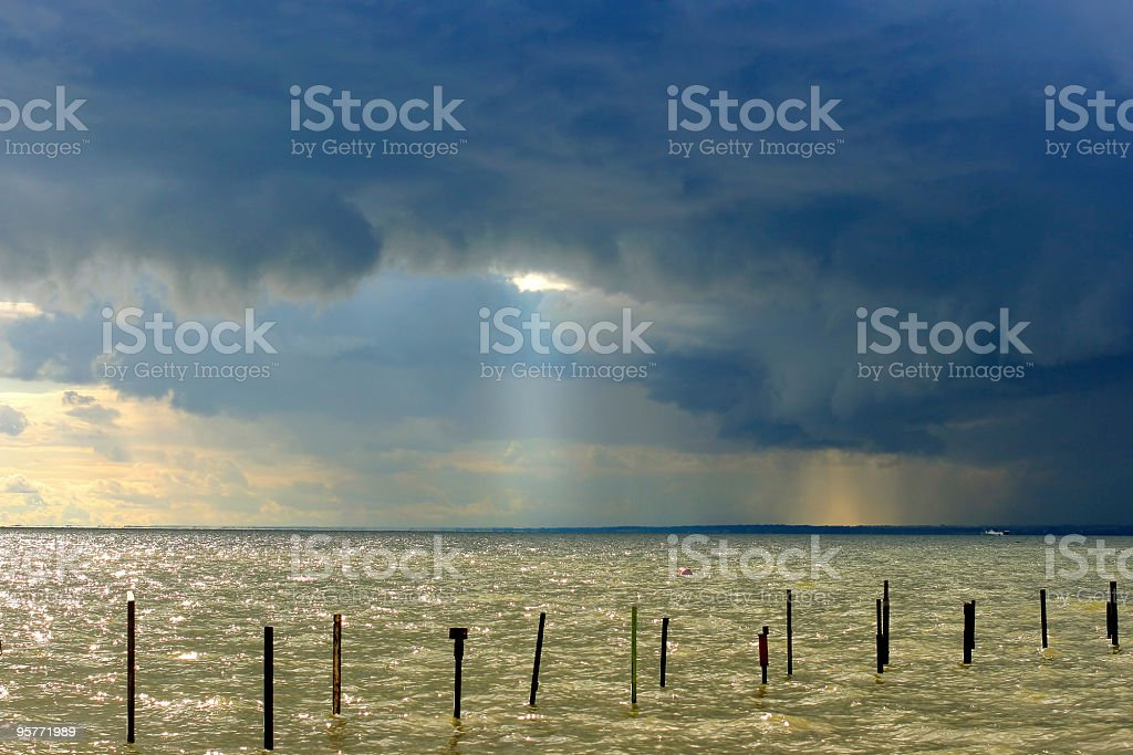 storm is impending royalty-free stock photo