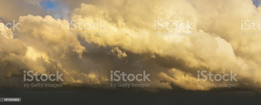 Storm over the low countries royalty-free stock photo
