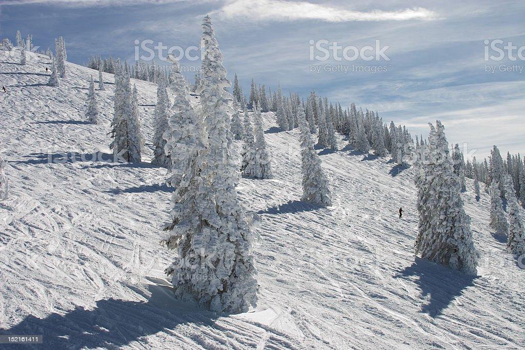 Storm Peak 2 stock photo