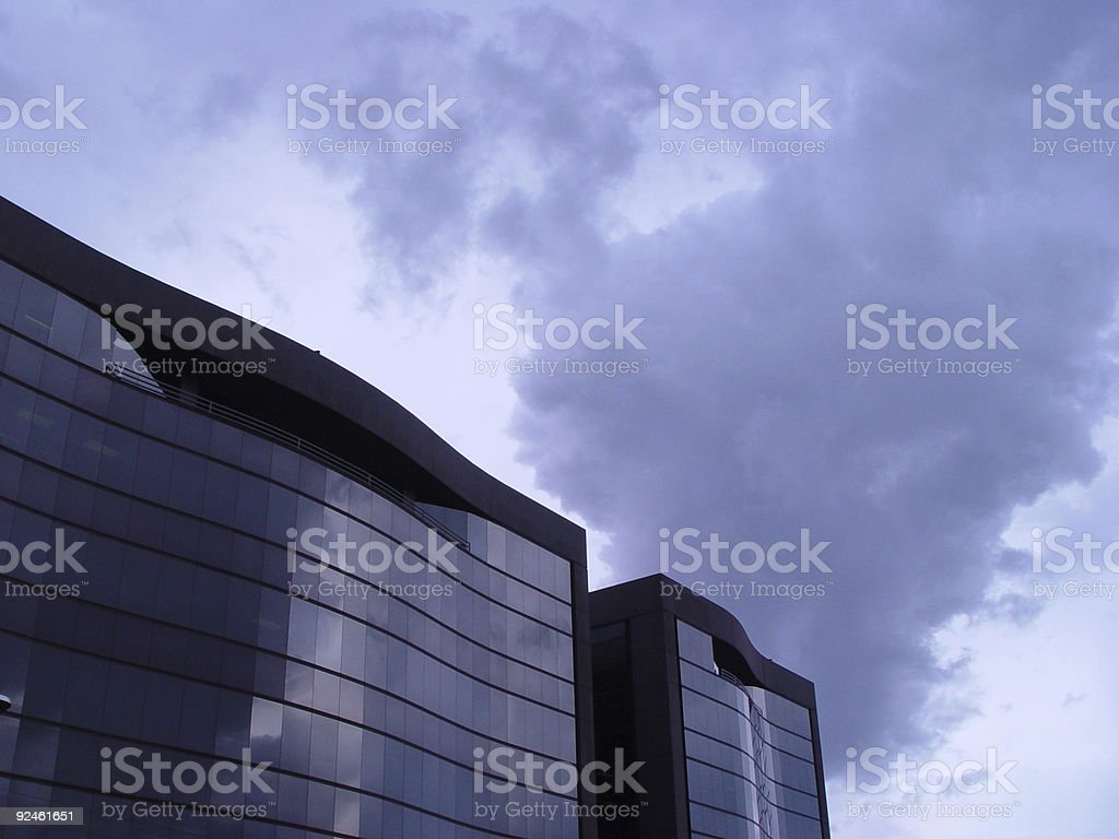 Storm pending royalty-free stock photo