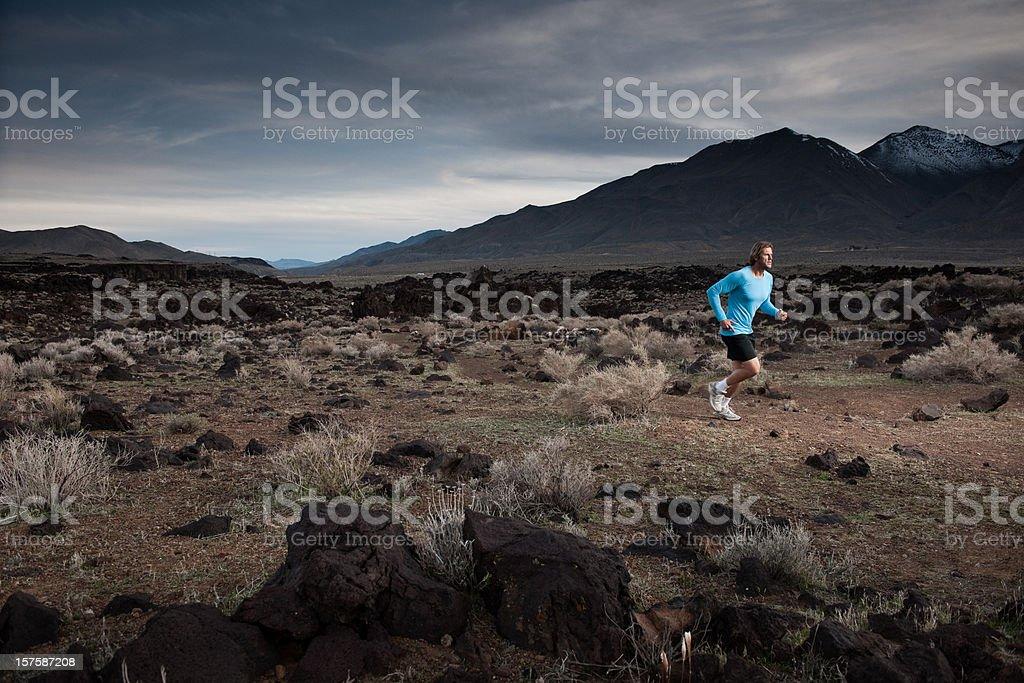Storm Runner royalty-free stock photo