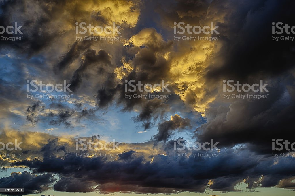 storm sky royalty-free stock photo