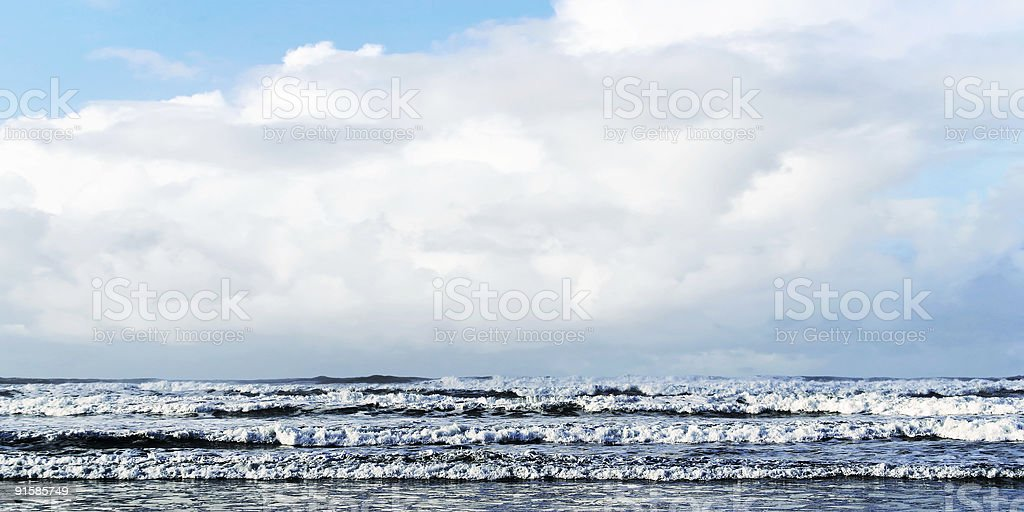 storm surge royalty-free stock photo