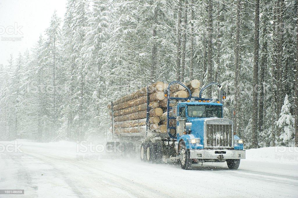 Storm Trucker royalty-free stock photo