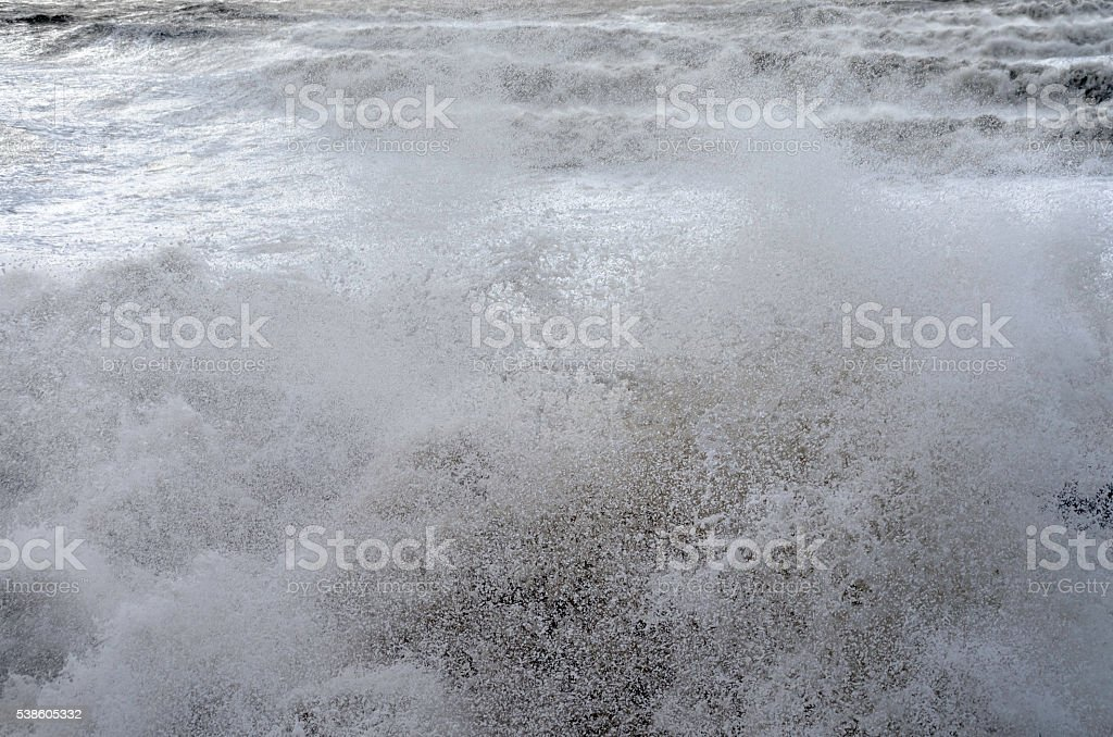 Storm Wave 2 royalty-free stock photo