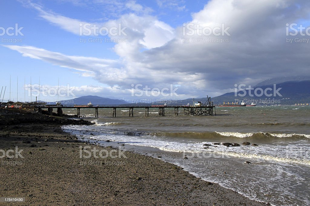 Storm Waves in Kits royalty-free stock photo