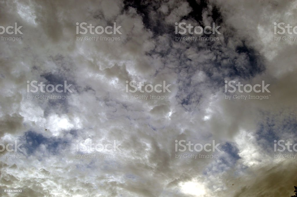 stormclouds stock photo