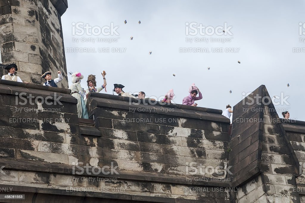 Storming of the Bastille stock photo