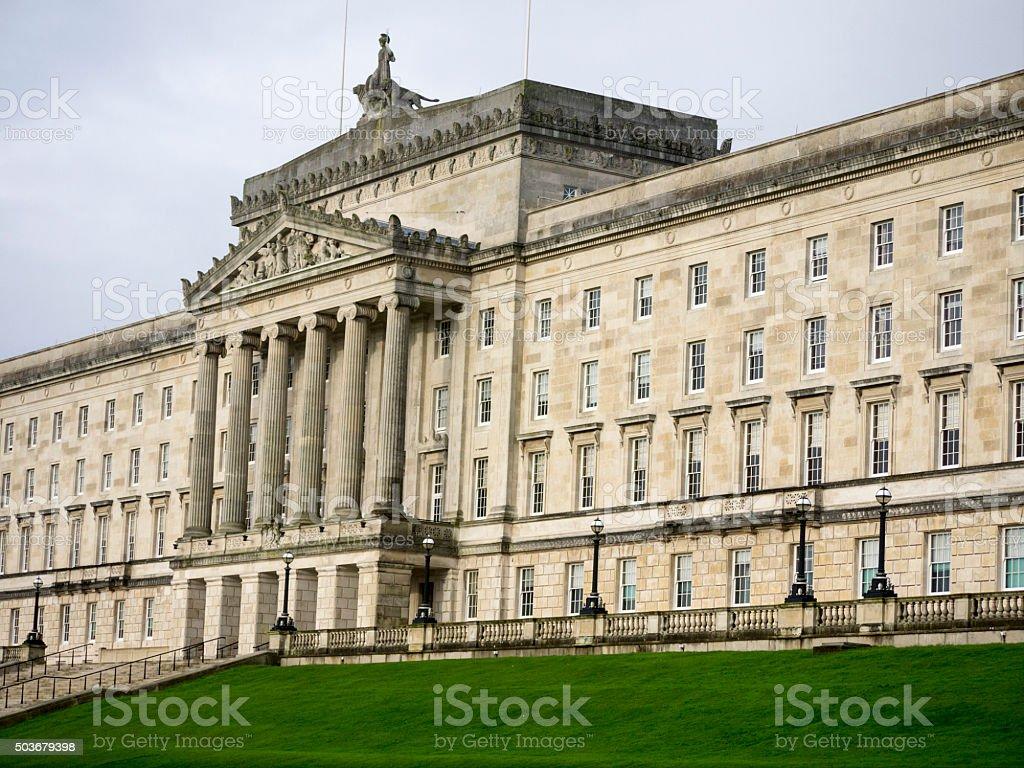 Stormont Building, Belfast, Northern Ireland stock photo