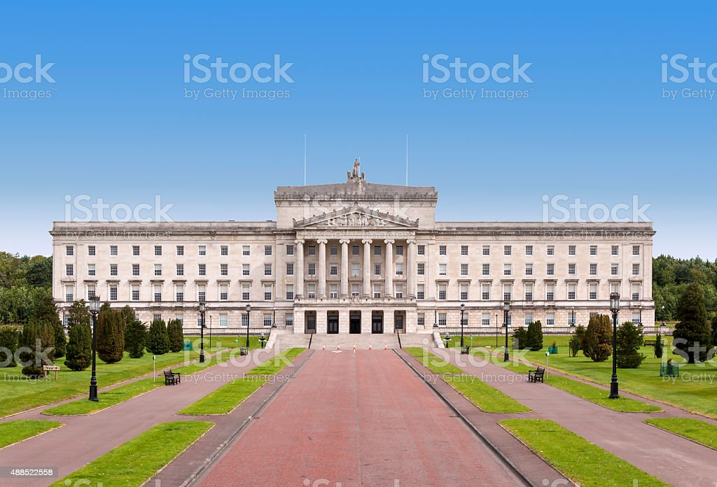 Stormont - Northern Ireland Government building stock photo