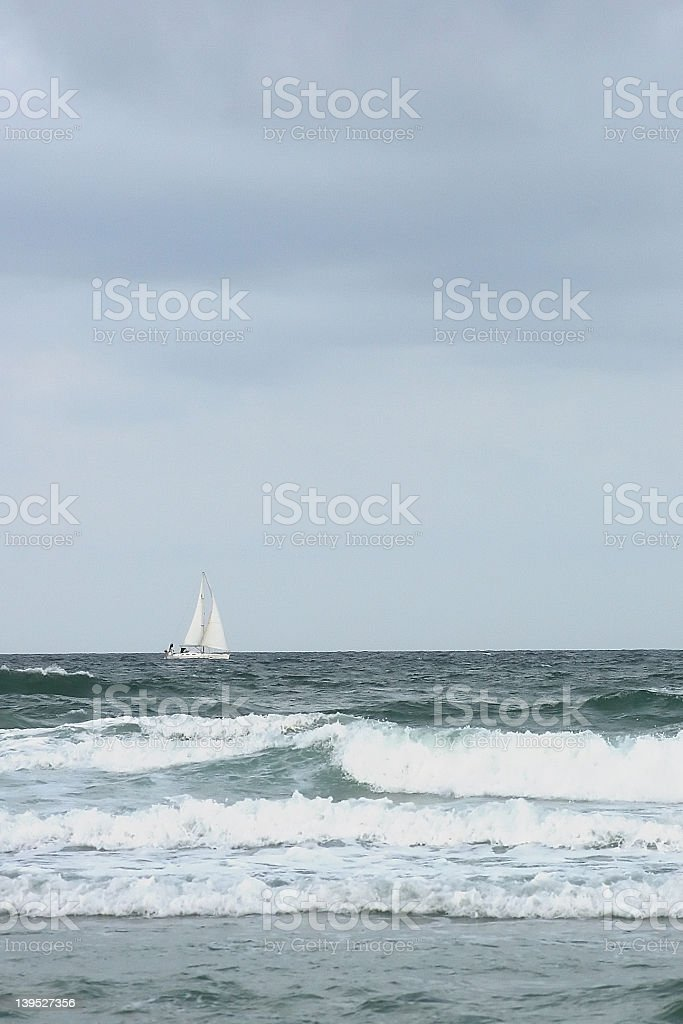 Storm's brewing royalty-free stock photo