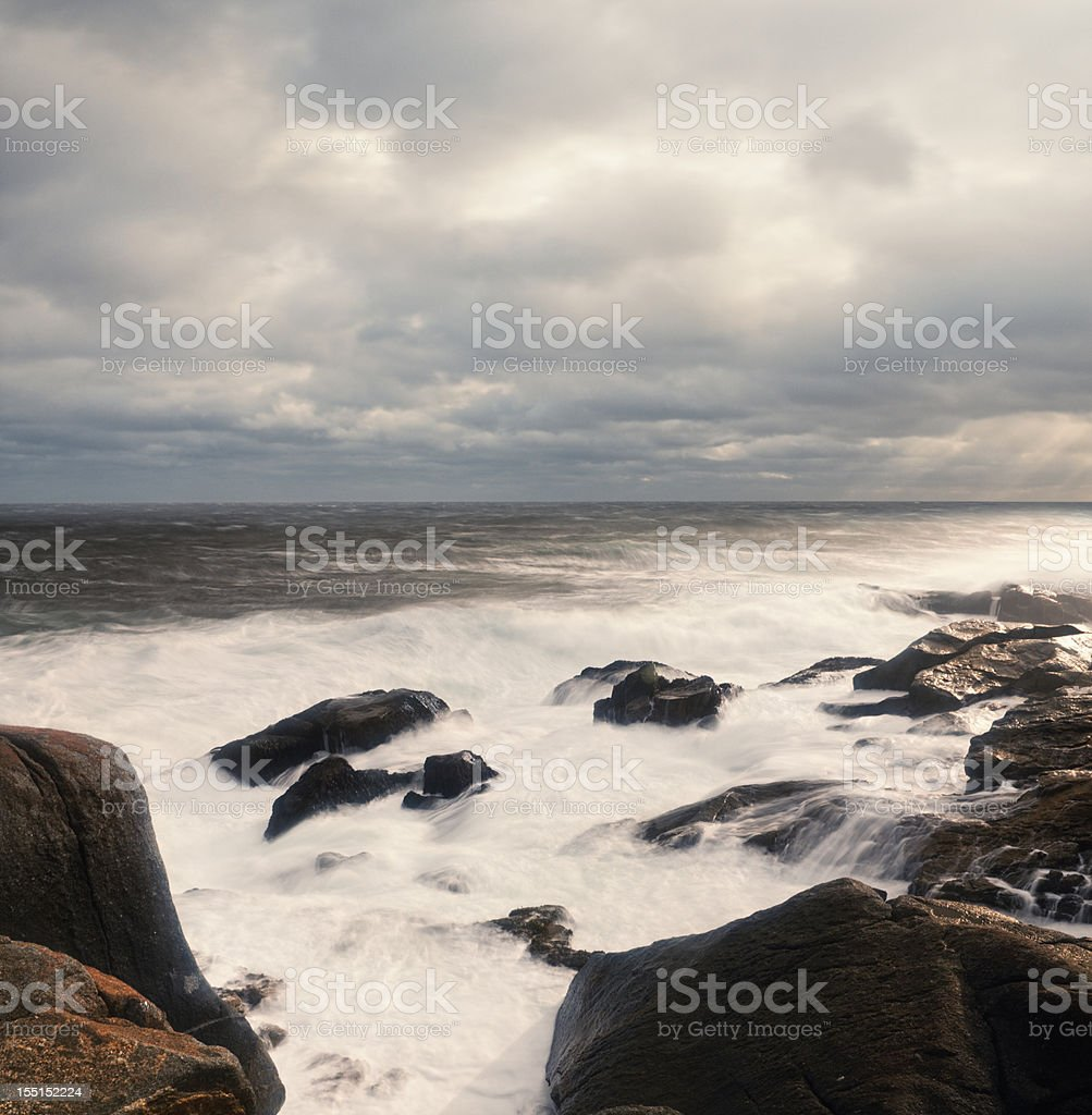 Stormscape royalty-free stock photo