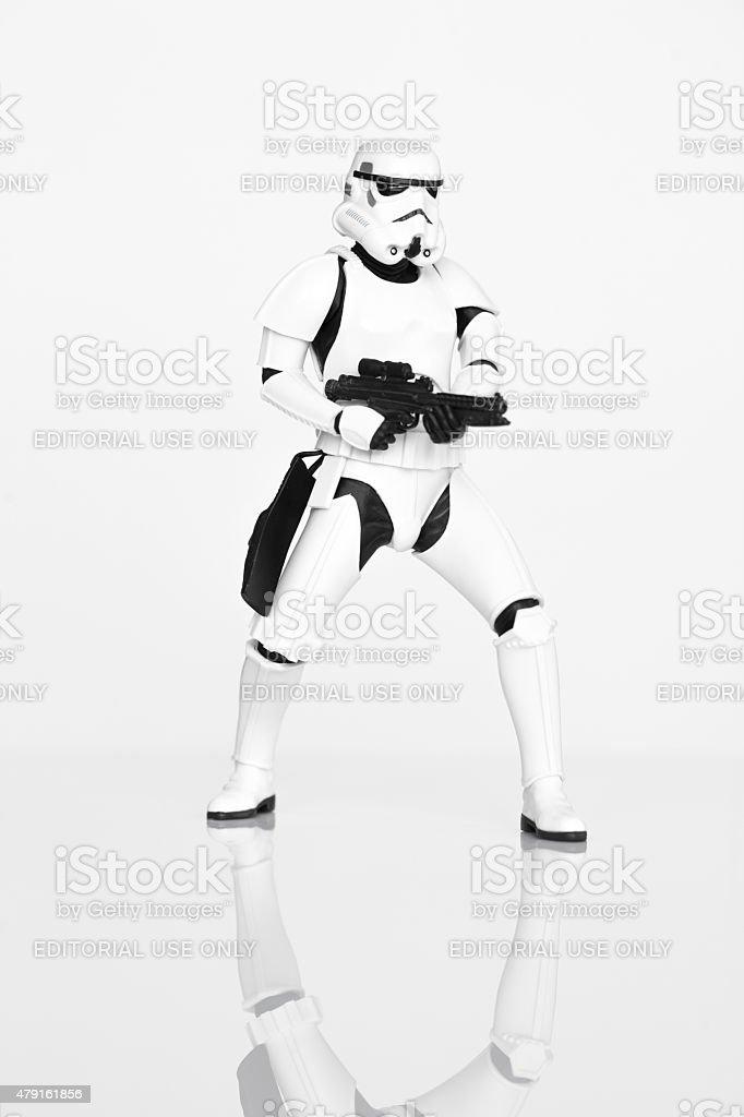 Stormtrooper stock photo