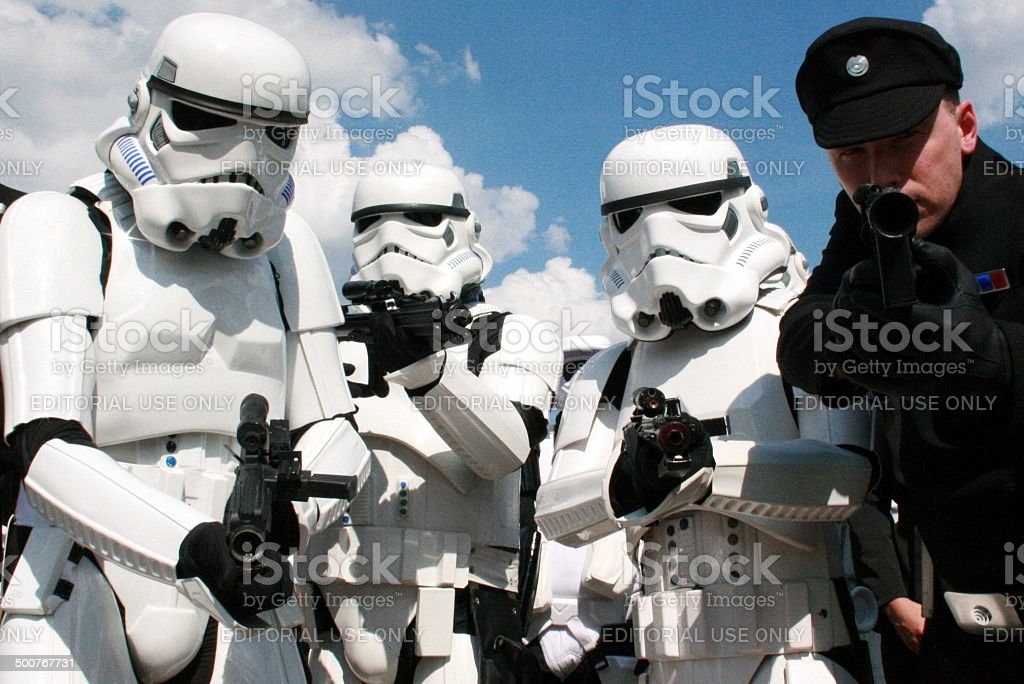 Stormtrooper stock photo