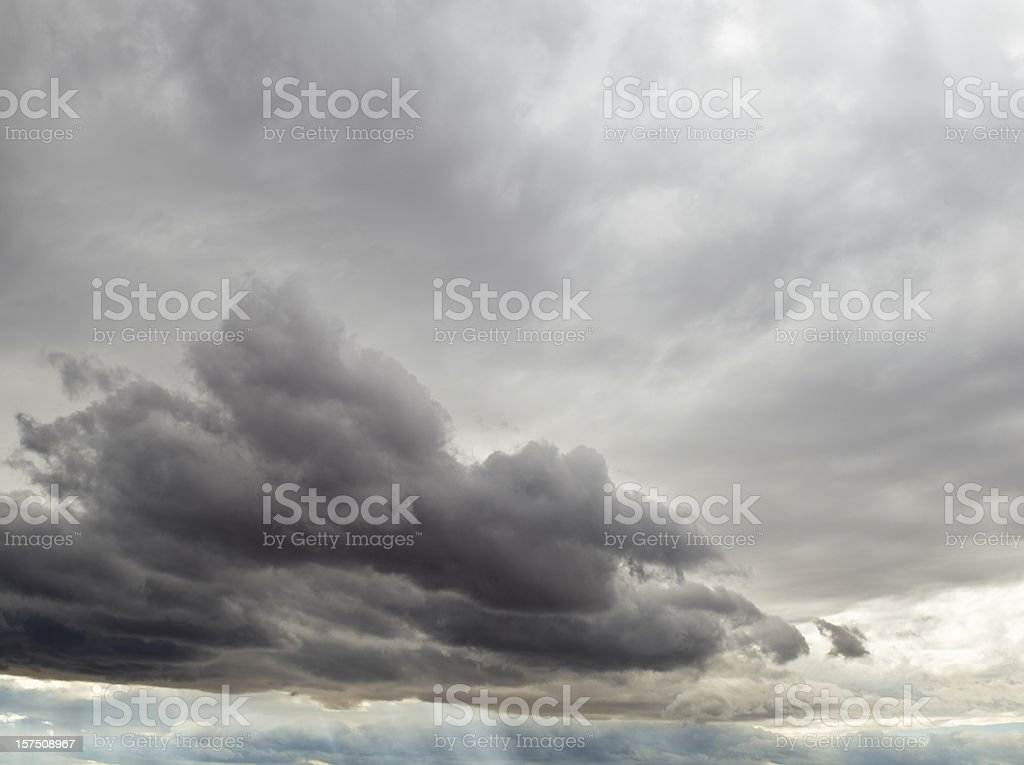Stormy Clouds royalty-free stock photo