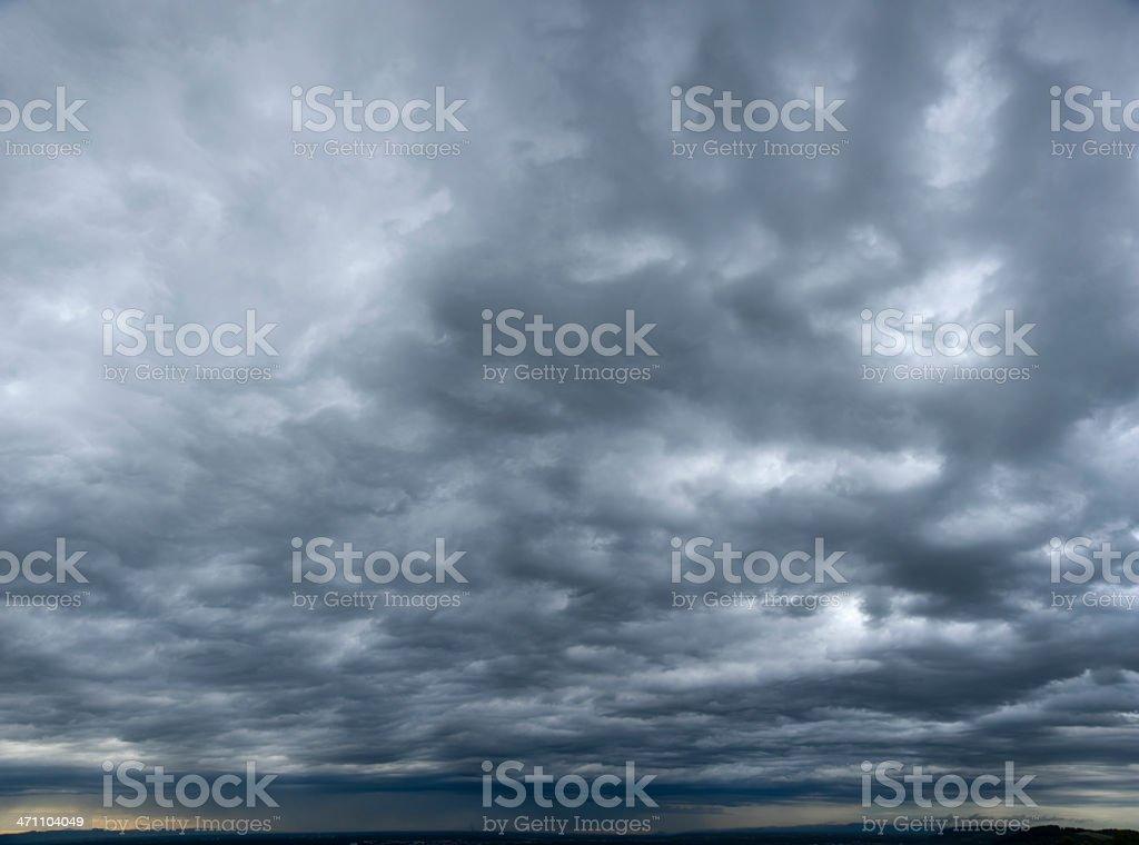 Stormy clouds (image size XXL) royalty-free stock photo