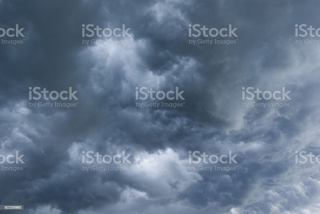 Stormy clouds. royalty-free stock photo