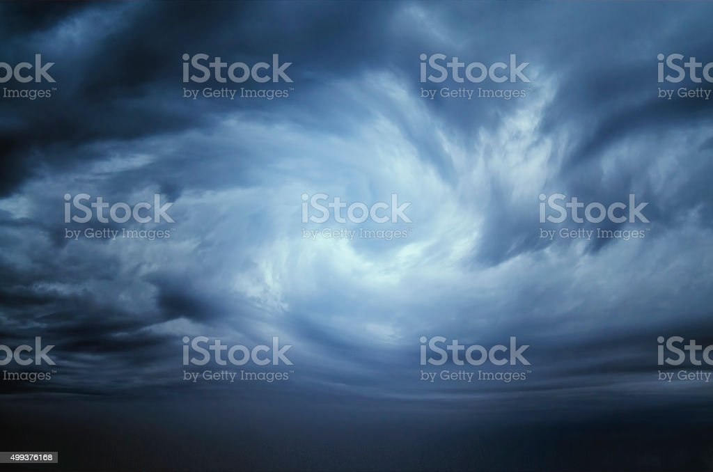 Stormy Clouds,Dramatic sky stock photo
