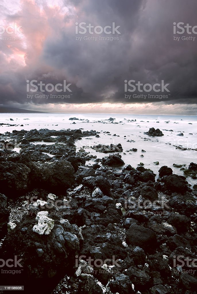 Stormy Coast royalty-free stock photo