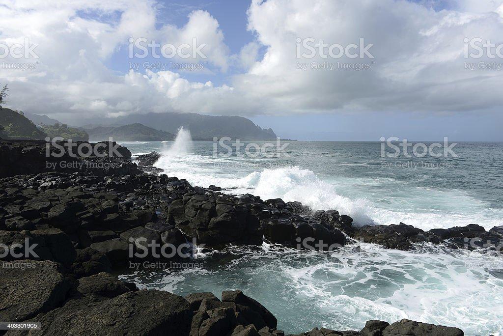 Stormy Coast stock photo