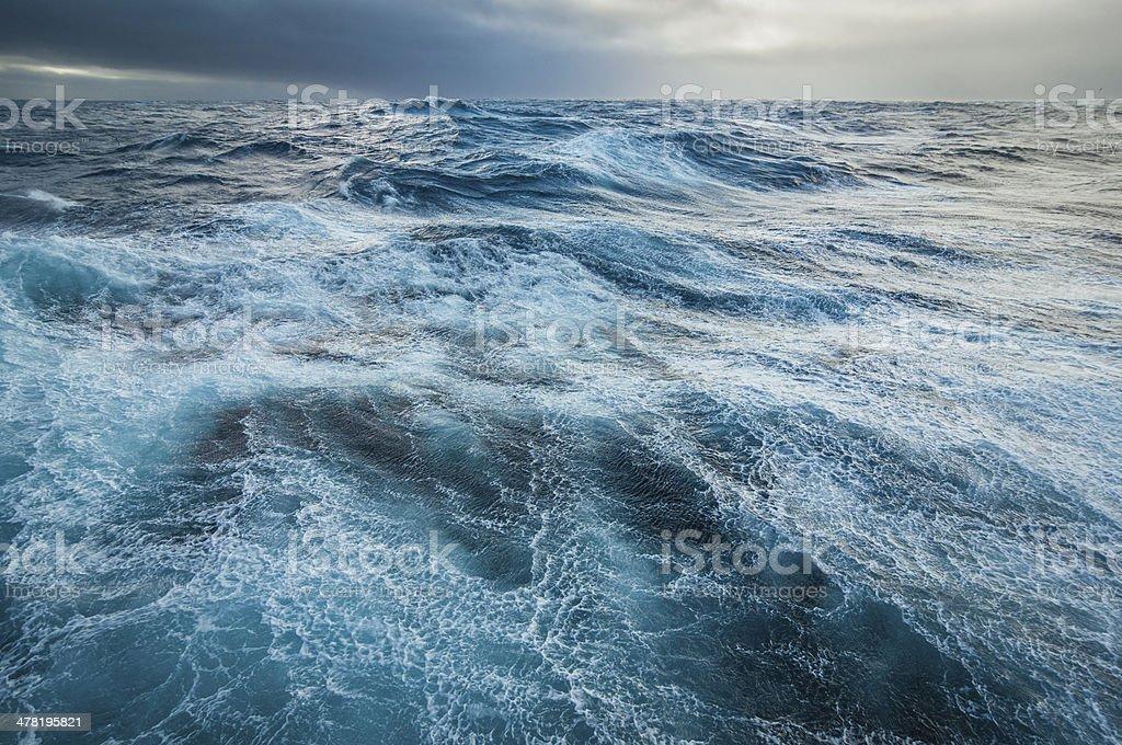 Stormy Drake Passage stock photo