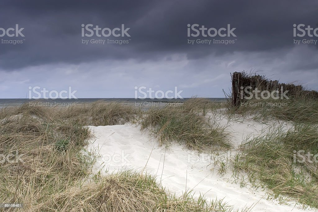 Stormy Dune royalty-free stock photo
