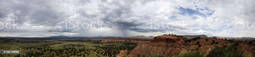 Stormy Horizon in the Kodachrome Basin stock photo