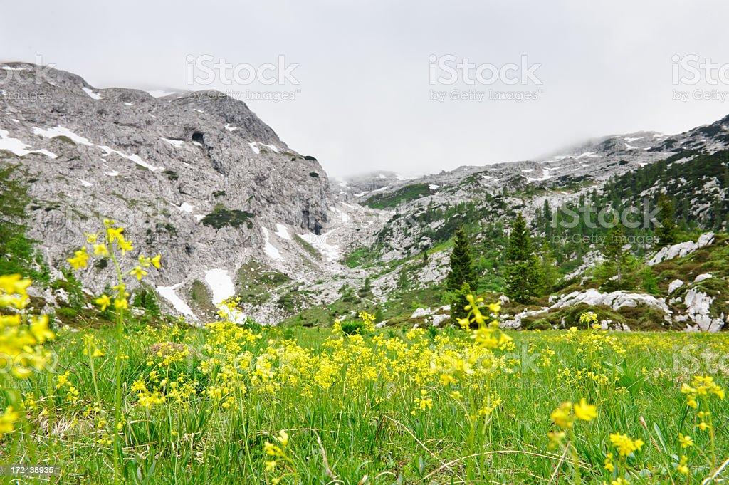 Stormy mountains royalty-free stock photo