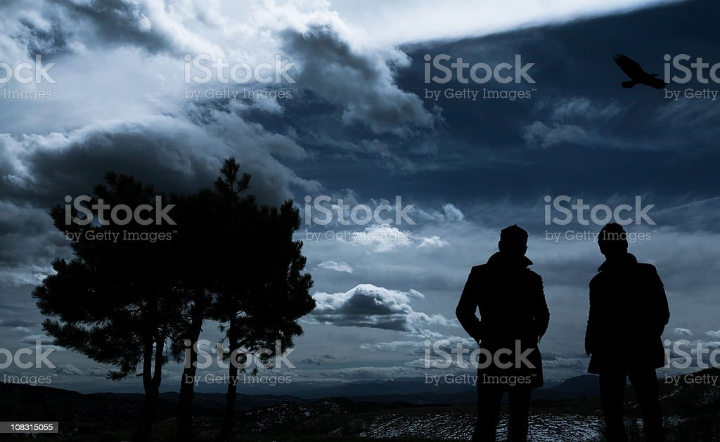 Stormy Night royalty-free stock photo