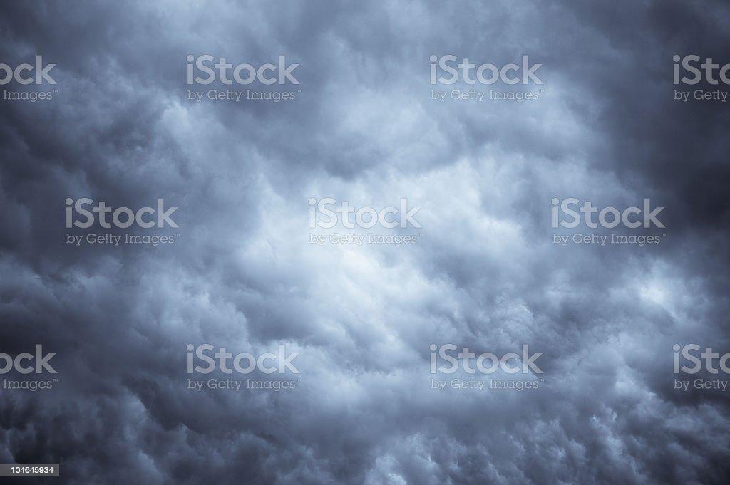 Stormy Night Sky royalty-free stock photo
