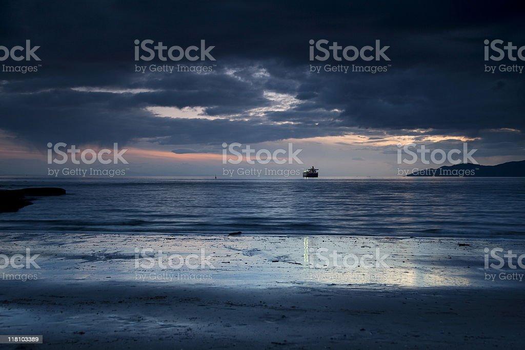 Stormy Ocean royalty-free stock photo