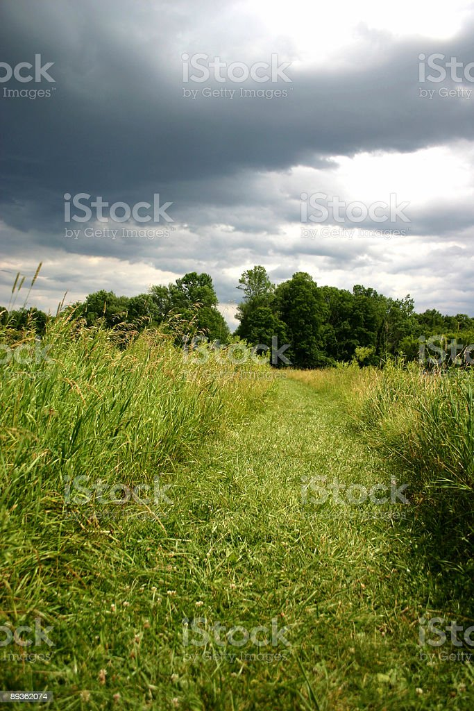 stormy path royalty-free stock photo