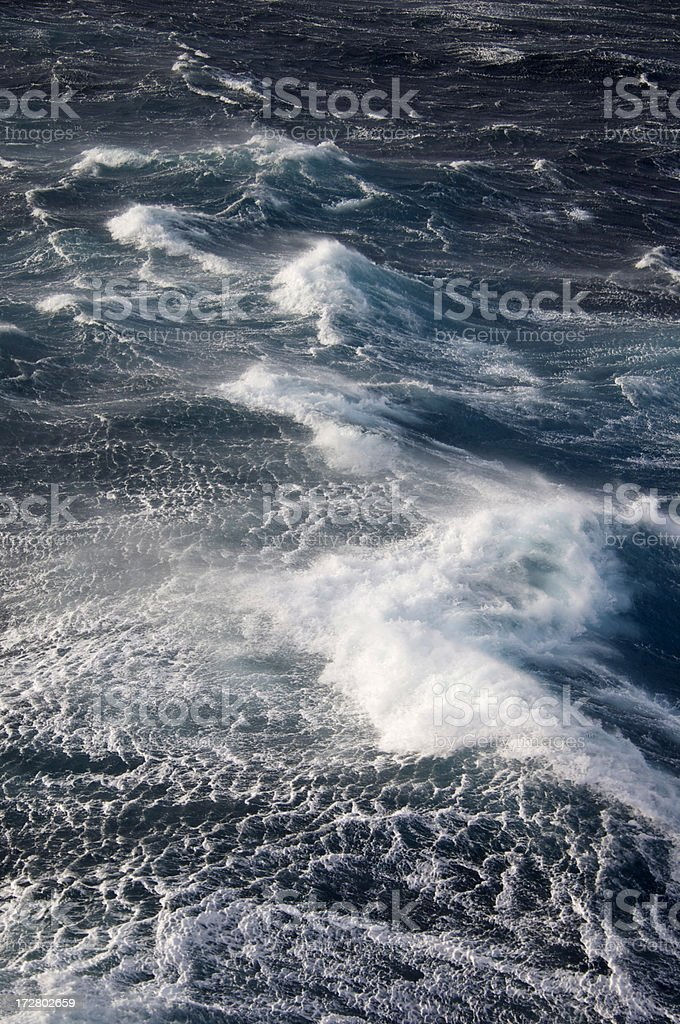 stormy sea water royalty-free stock photo