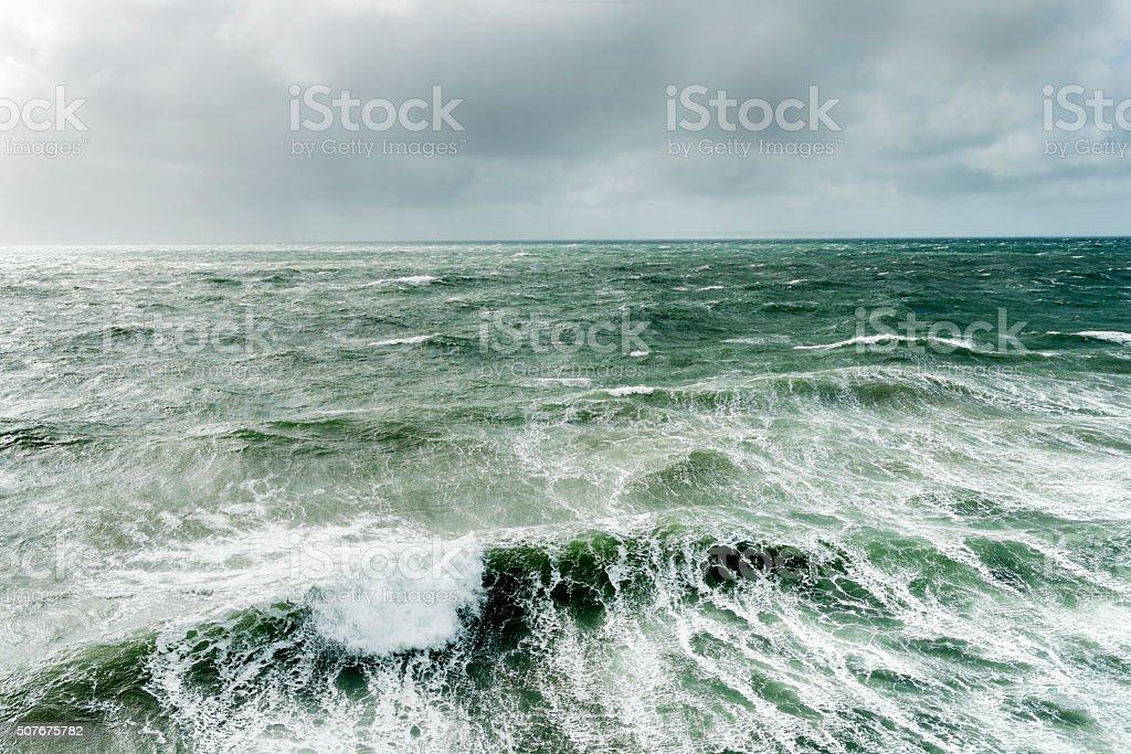 Stormy Seas stock photo