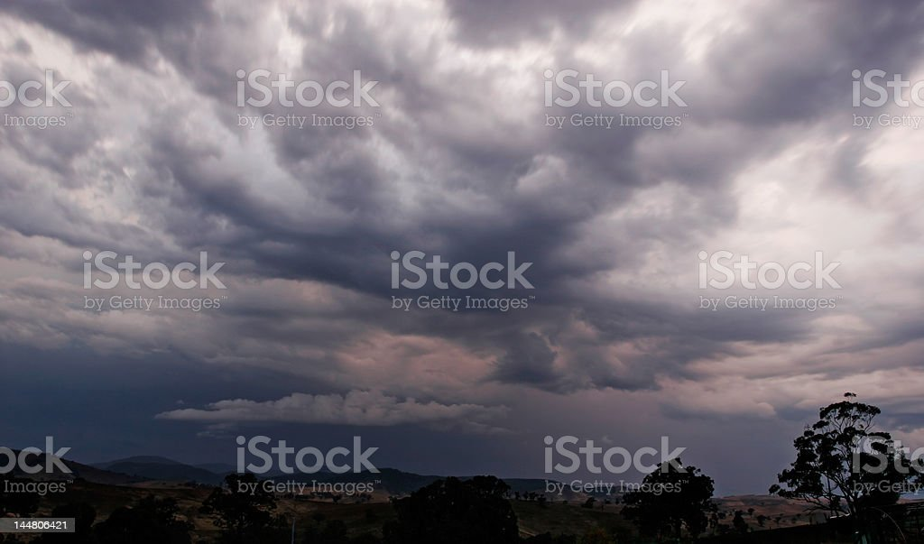 Stormy Skies royalty-free stock photo